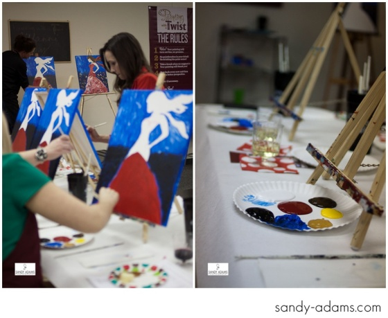 Sandy Adams Photography Painting with a twist la marque go red for women-16
