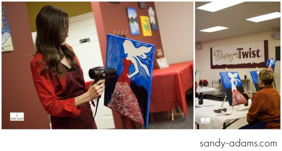 Sandy Adams Photography Painting with a twist la marque go red for women-22