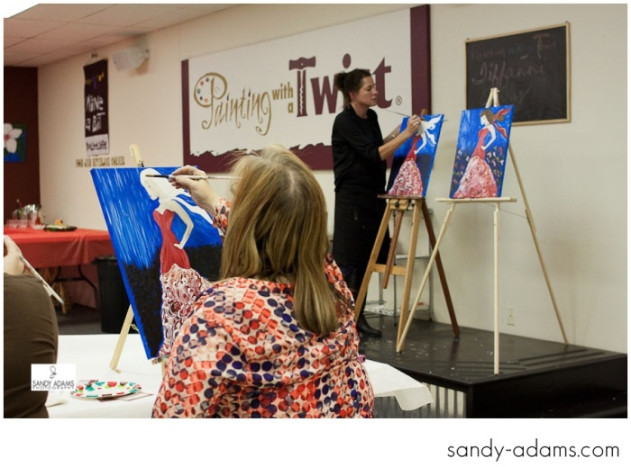 Sandy Adams Photography Painting with a twist la marque go red for women-27