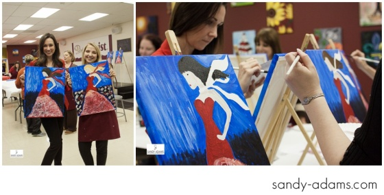 Sandy Adams Photography Painting with a twist la marque go red for women-32