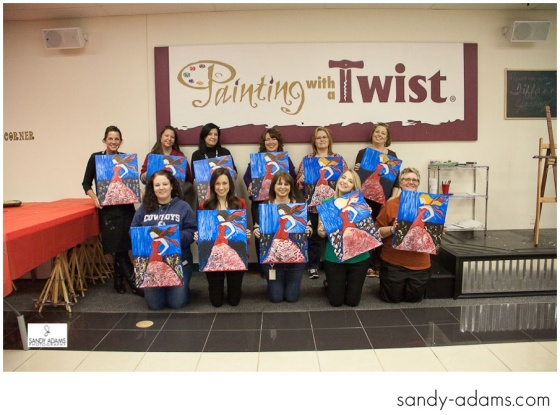 Sandy Adams Photography Painting with a twist la marque go red for women-34